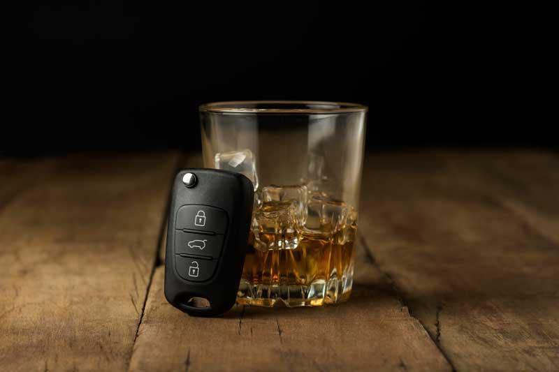 בדיקת מאפיינים לאיתור שיכורים