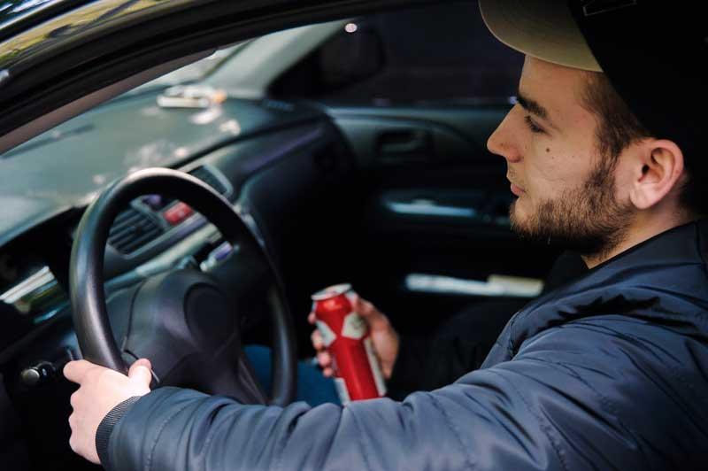 נהיגה בשכרות בקרב בני נוער